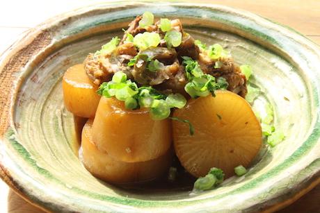 焼き大根と鶏の炊いたんのサムネイル