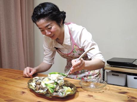 アスパラガスと新玉ねぎのあんかけ豆腐のサムネイル