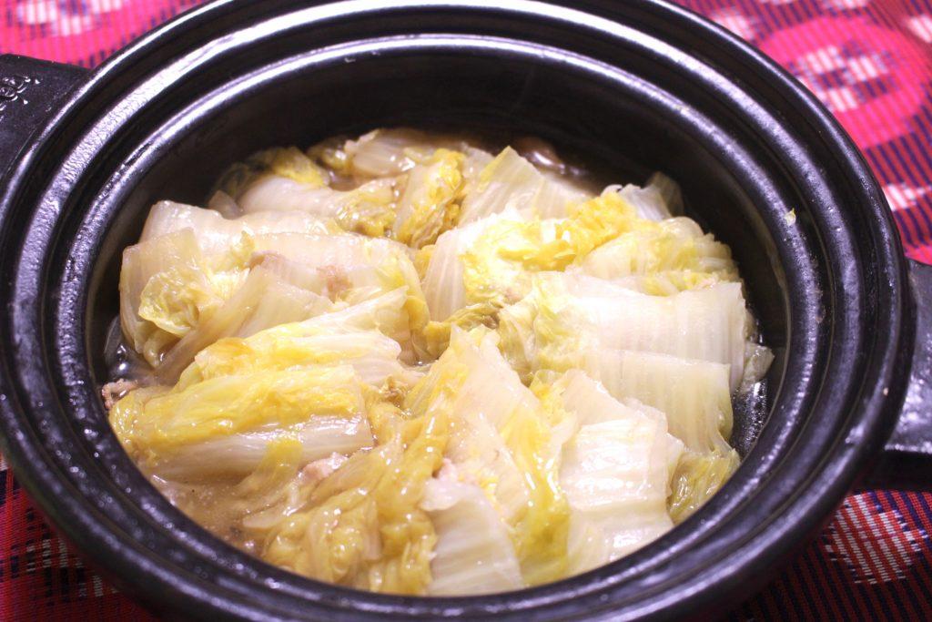 なにわ風白菜ミルフィール鍋のサムネイル