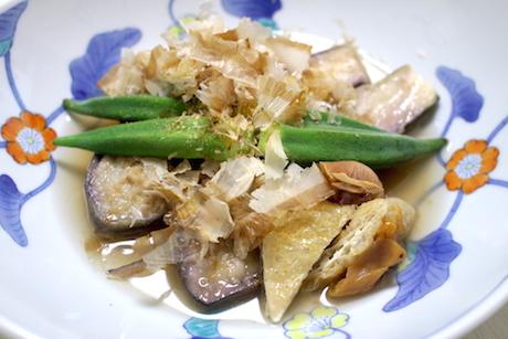 【TV披露レシピ】なすのステーキ〜さっぱり梅だし浸し〜のサムネイル