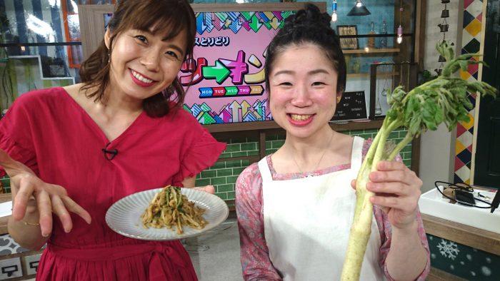 河島あみる、大阪産、女子会、大阪、天王寺、健康、野菜、和食、料理教室、健彩青果、大畑ちつる、レシピ