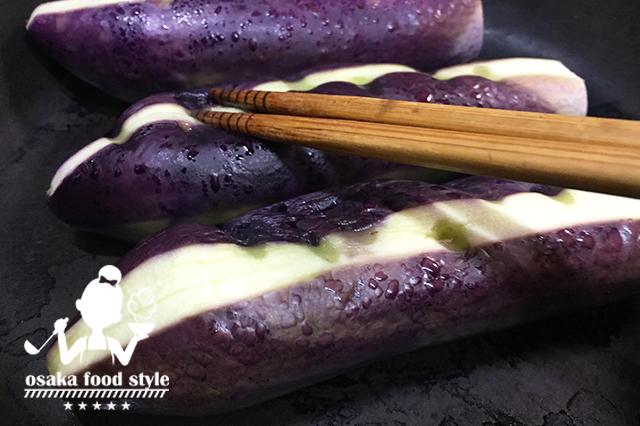 大阪産、女子会、大阪、天王寺、健康、野菜、和食、料理教室、健彩青果、大畑ちつる、レシピ、大阪ナス、なにわ