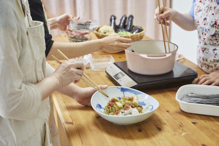 野菜料理教室、天王寺、阿倍野区、美章園、大阪市、osakafoodstyle、大畑ちつる、健彩青果、和食、レシピ、梅、梅干し、梅仕事