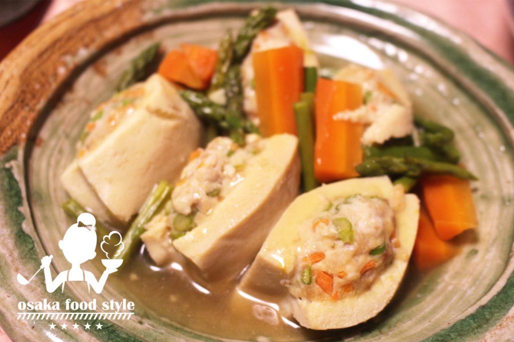 アスパラガスと高野豆腐の射込み煮のサムネイル