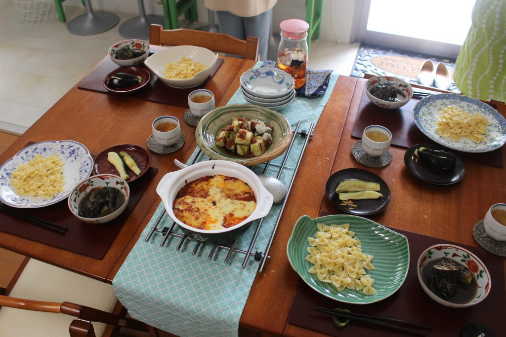 5月通常レッスン「大阪なす&梅味噌」レポ#3