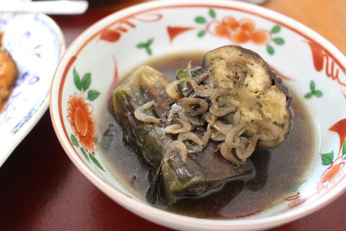 なすの田舎煮、大阪産、女子会、大阪、天王寺、健康、野菜、和食、料理教室、健彩青果、大畑ちつる、レシピ