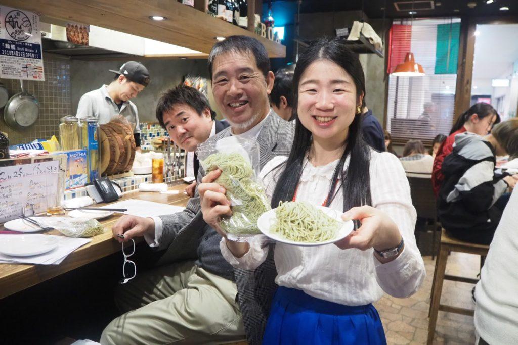 阪南大学連携「昆布パスタ」を開発 #1