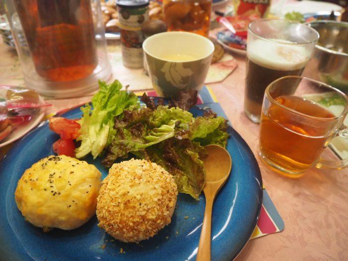 料理教室、天王寺、パン、チーズ