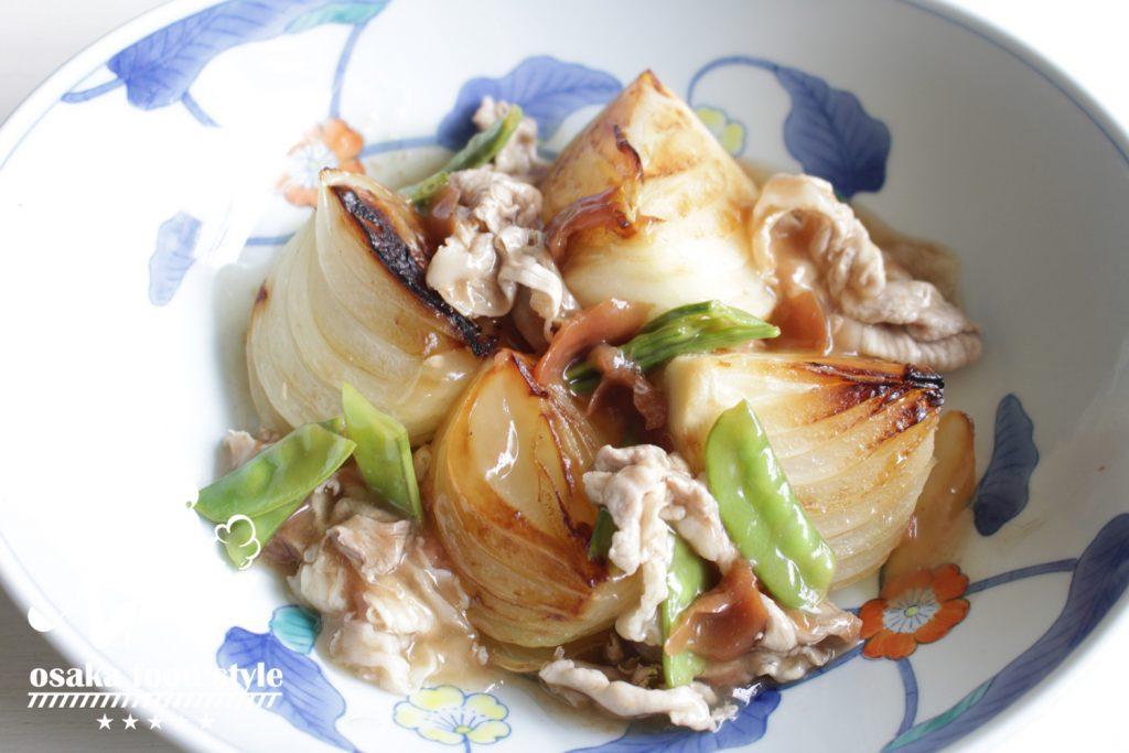 ごろっと新玉ねぎの梅酢豚のサムネイル