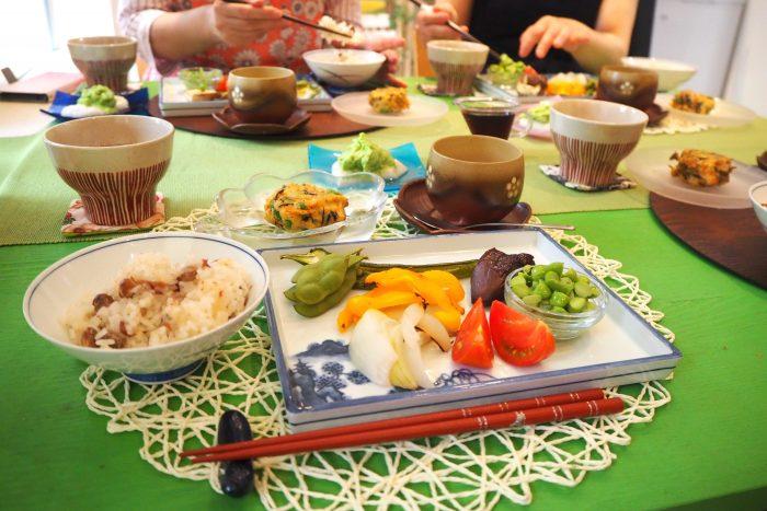八尾完熟えだまめ、大阪産、女子会、大阪、天王寺、健康、野菜、和食、料理教室、健彩青果、大畑ちつる、レシピ、八尾市