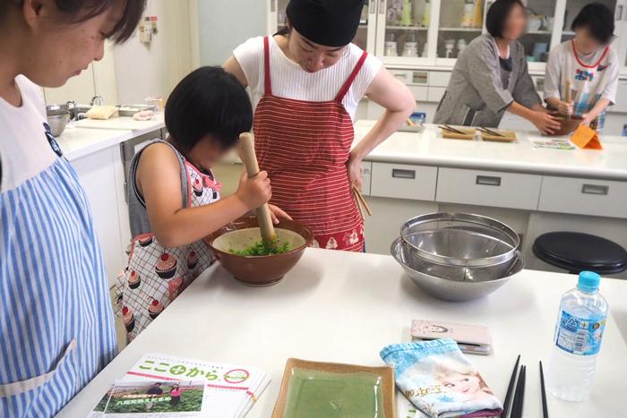 ずんだ餅、八尾えだまめ、osakafoodstyle、なにわ料理、大阪産、女子会、大阪、天王寺、健康、野菜、和食、料理教室、健彩青果、大畑ちつる、レシピ