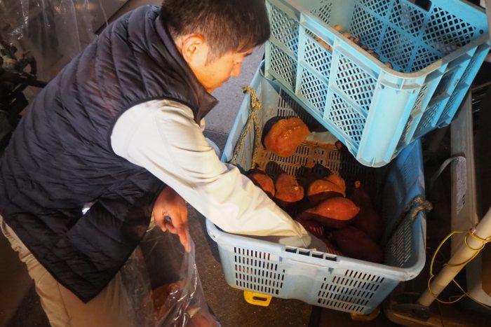 八尾サツマイモ、osakafoodstyle、なにわ料理、大阪産、女子会、大阪、天王寺、健康、野菜、和食、料理教室、健彩青果、大畑ちつる、レシピ、ごごナマ