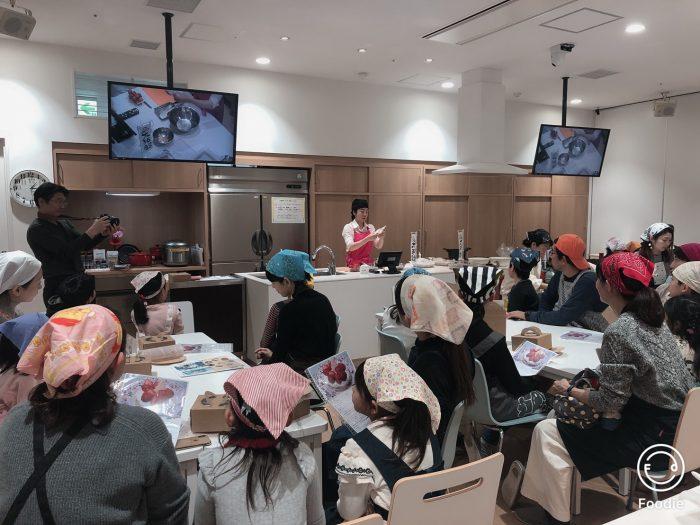 親子クリスマスケーキ教室、osakafoodstyle、なにわ料理、大阪産、女子会、大阪、天王寺、健康、野菜、和食、料理教室、健彩青果、大畑ちつる、レシピ、ごごナマ