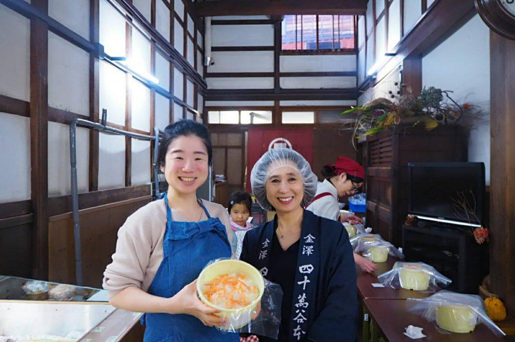 かぶら寿司の作り方を学びに、金沢へ