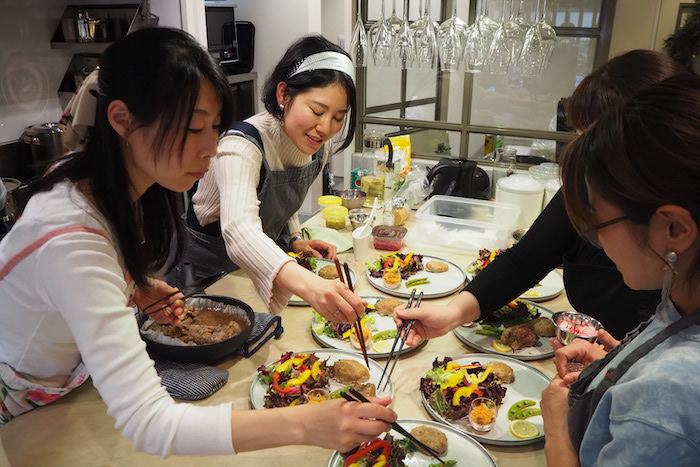 osakafoodstyle、なにわ料理、大阪産、女子会、大阪、天王寺、健康、野菜、和食、料理教室、健彩青果、大畑ちつる、レシピ