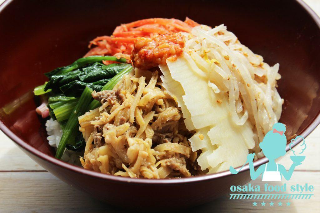 タケノコ肉味噌で春のビビンバのサムネイル