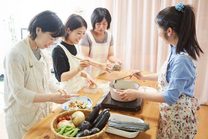 大阪おばんざい茄子、osakafoodstyle、なにわ料理、大阪産、女子会、大阪、天王寺、健康、野菜、和食、料理教室、健彩青果、大畑ちつる、レシピ、ごごナマ