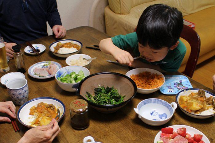 ニンジンナムル、かずま、osakafoodstyle、なにわ料理、大阪産、女子会、大阪、天王寺、健康、野菜、和食、料理教室、健彩青果、大畑ちつる、レシピ、ごごナマ
