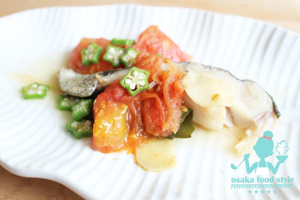 白身魚とトマトの煮付けのサムネイル