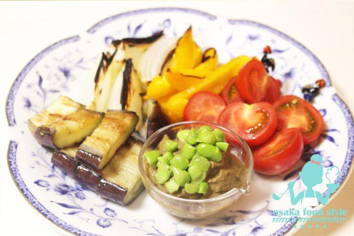 ずんだ和え、枝豆、八尾えだまめ、おばんざい教室、個人、野菜料理教室、天王寺、阿倍野区、美章園、大阪市、osakafoodstyle、大畑ちつる、健彩青果、和食、レシピ、なにわ料理