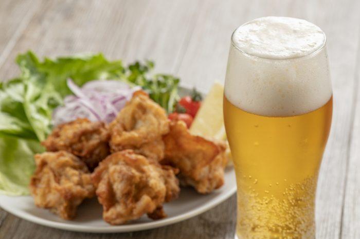 ビール唐揚げ