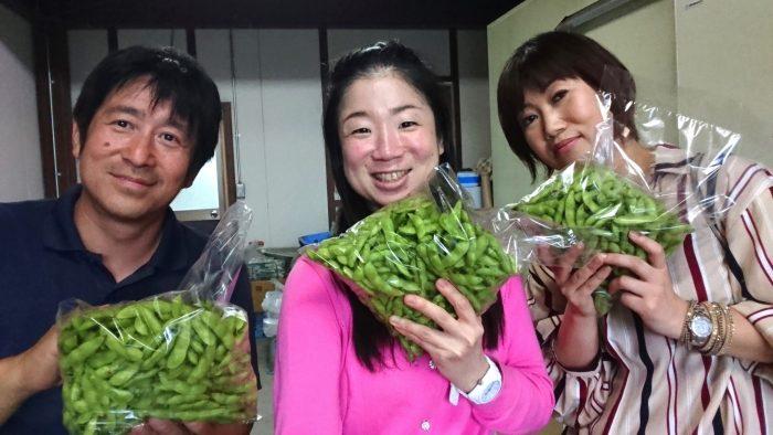 osakafoodstyle、なにわ料理、大阪産、女子会、大阪、天王寺、健康、野菜、和食、料理教室、健彩青果、大畑ちつる、レシピ、おばんざい、個人、大阪市、八尾、枝豆