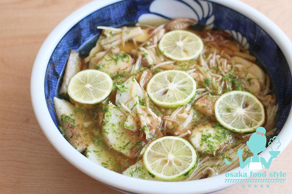 長芋とキノコのつゆだくスダチマリネのサムネイル