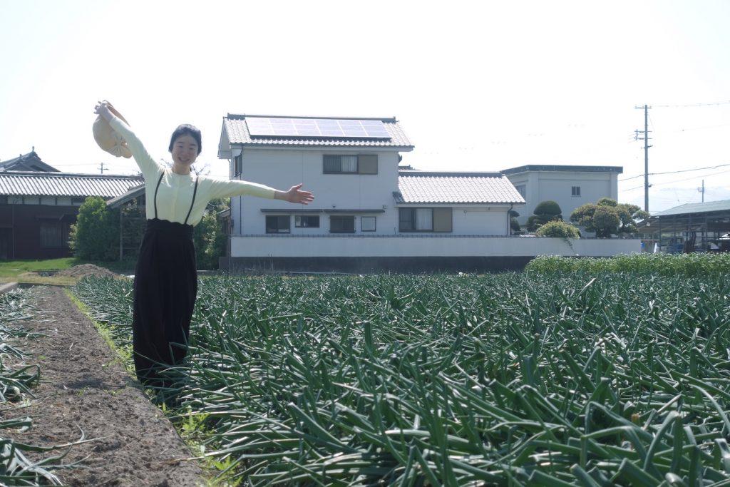 新玉ねぎ農家さん訪問