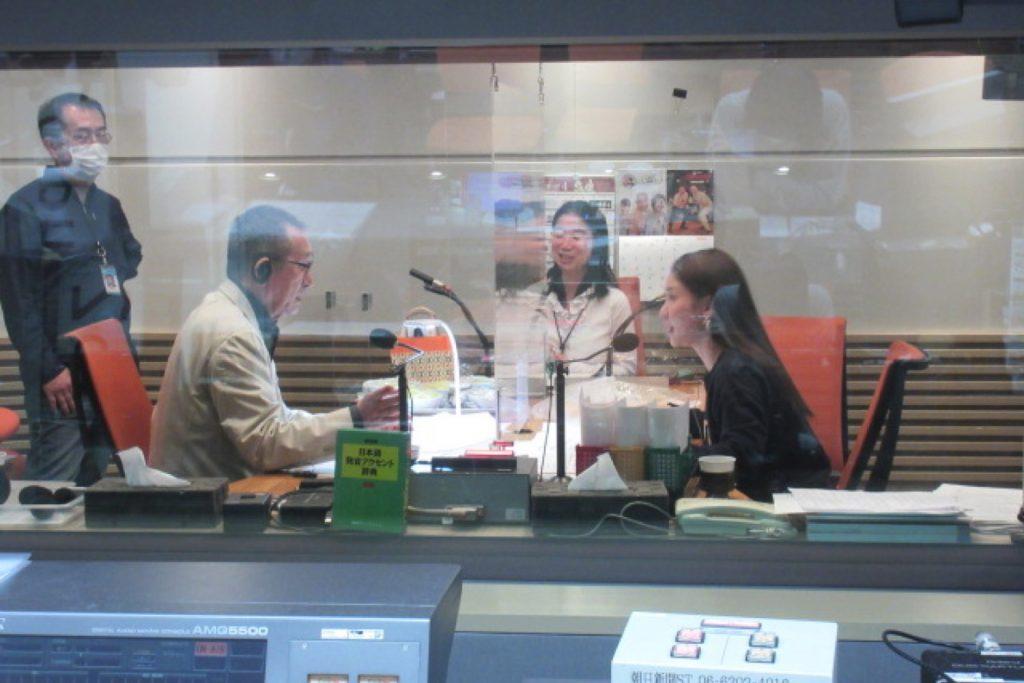 朝日放送ラジオ「おはようパーソナリティ道上洋三です」に出演しました。
